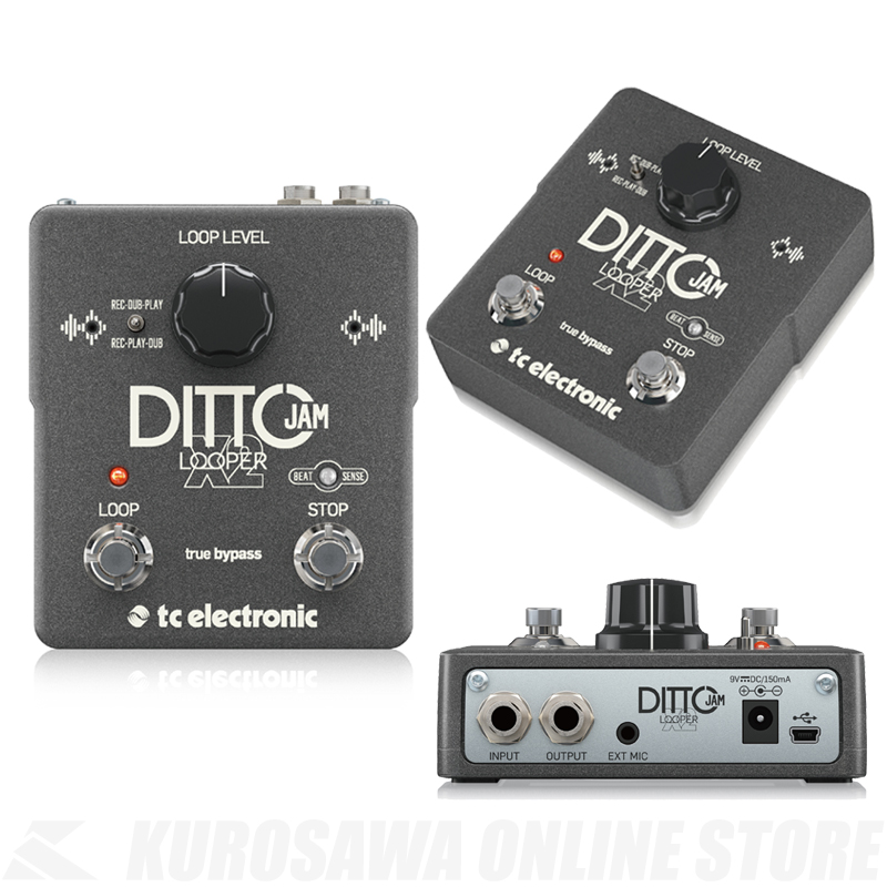 TC ELECTRONIC DITTO JAM X2《ルーパー》【送料無料】