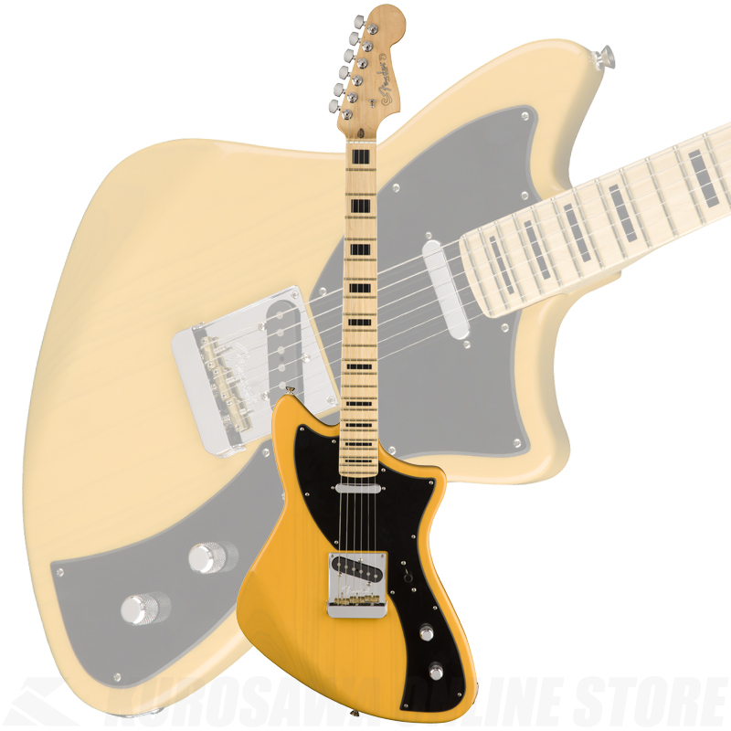 Fender Limited Edition Meteora, Maple Fingerboard, Butterscotch Blonde【送料無料】