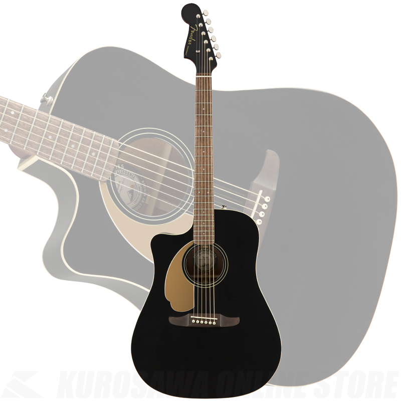 Fender Redondo Player LH, Walnut Fingerboard, Jetty Black【送料無料】