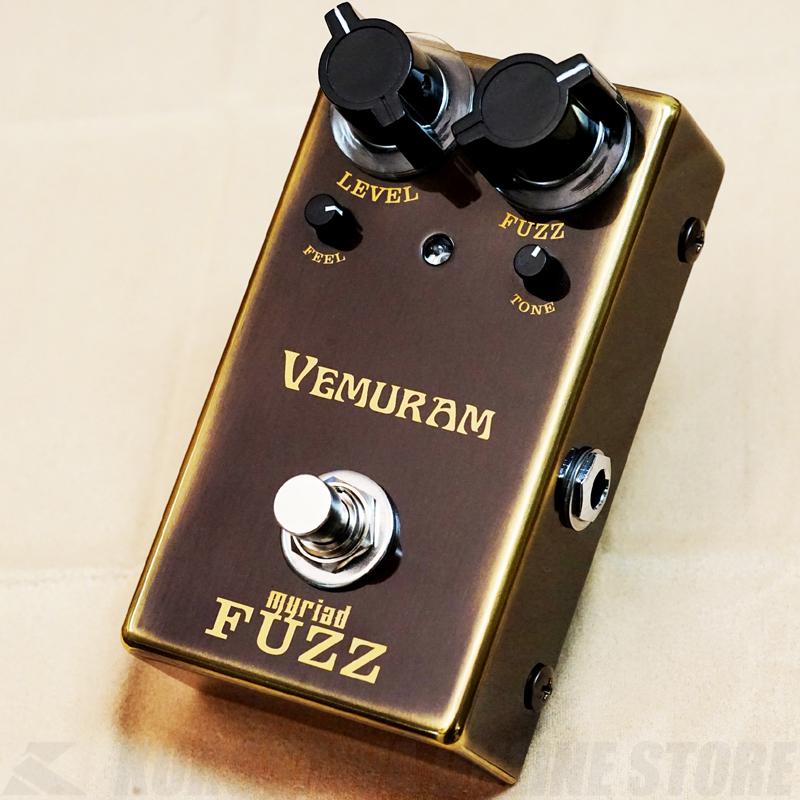 エフェクター 《ヴェムラム》 VEMURA Myriad Fuzz セール 登場から人気沸騰 ご予約受付中 送料無料 至上 ミリアド ファズ