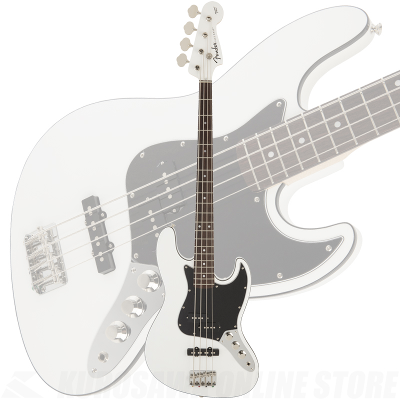 Fender FSR Aerodyne Jazz Bass, Arctic White《限定品》【送料無料】