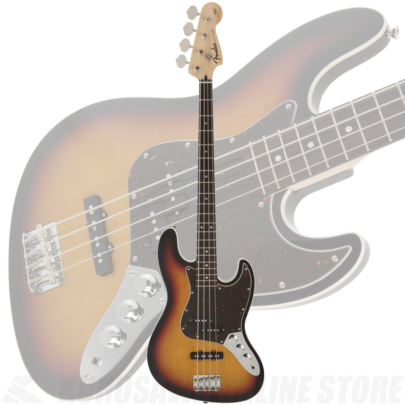 Fender FSR Aerodyne Jazz Bass, 3-Color Sunburst《限定品》【送料無料】