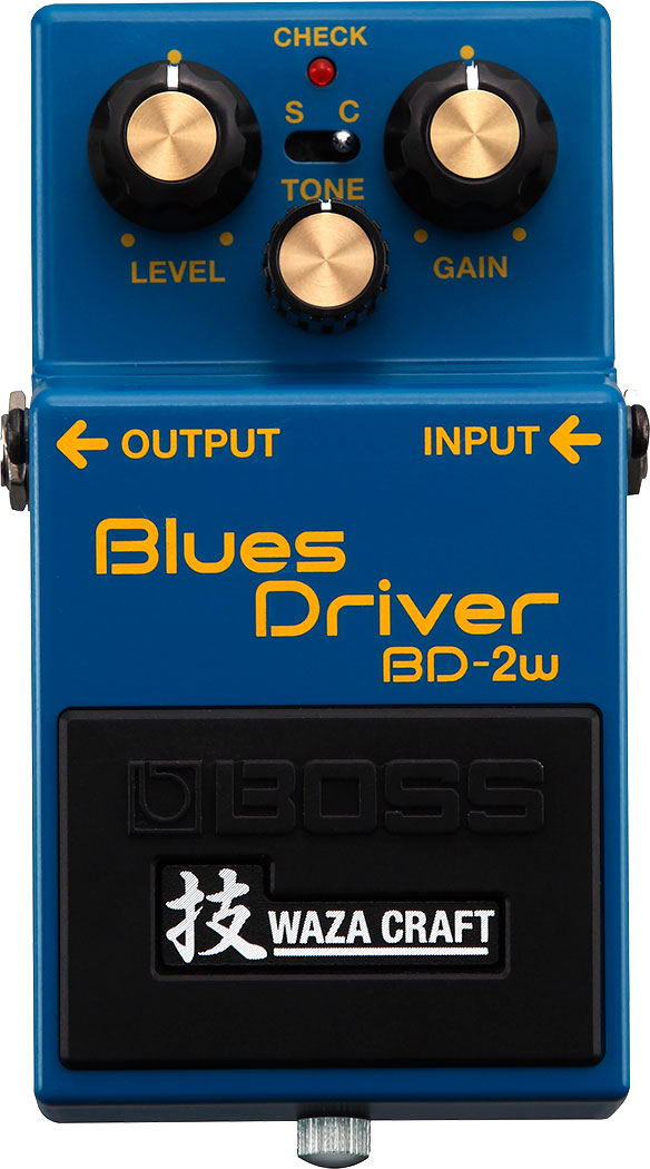 BOSS 技 Waza Craft Series BD-2W (J) Blues Driver 日本製 《エフェクター/オーバードライブ》【送料無料】