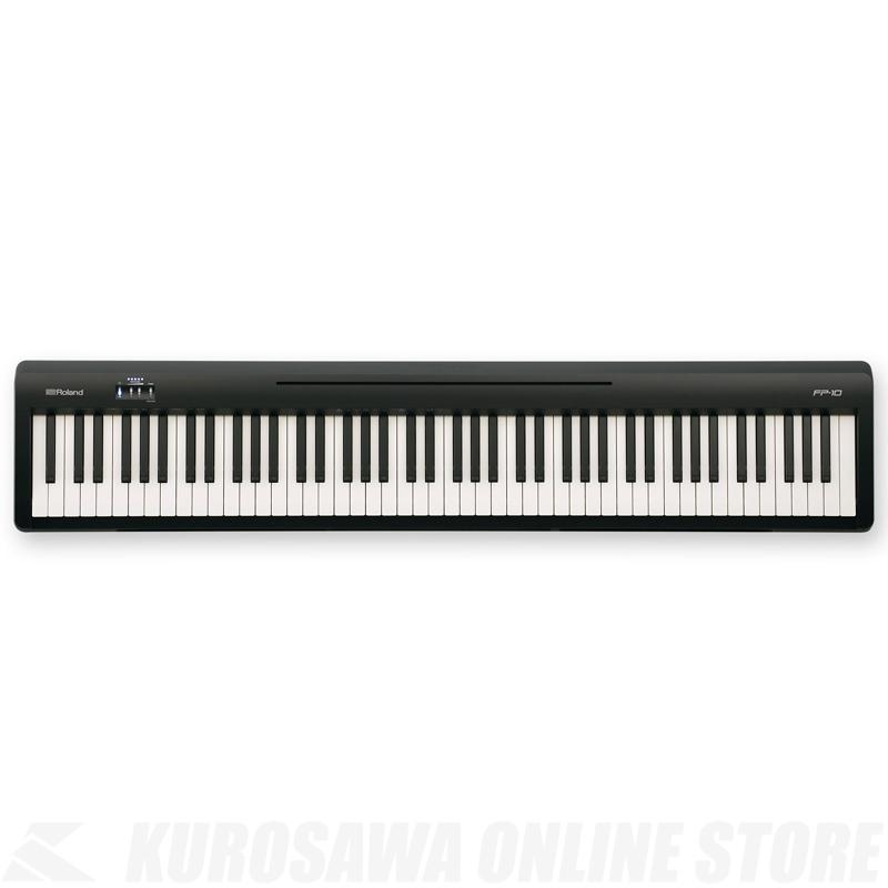 Roland FP-10-BK《デジタルピアノ》【送料無料】《2月9日発売予定・ご予約受付中》