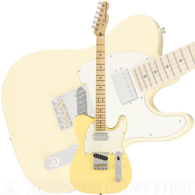 Fender American Performer Telecaster with Humbucking, Maple Fingerboard, Vintage White(ご予約受付中)