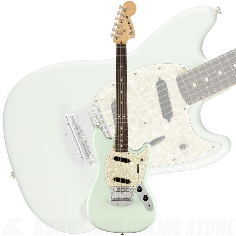 Fender American Performer Mustang, Rosewood Fingerboard, Satin Sonic Blue(ご予約受付中)