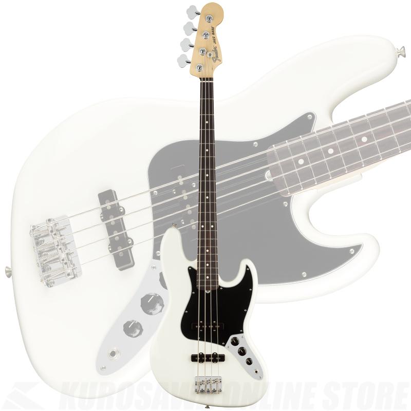 Fender American Performer Jazz Bass, Rosewood Fingerboard, Arctic White