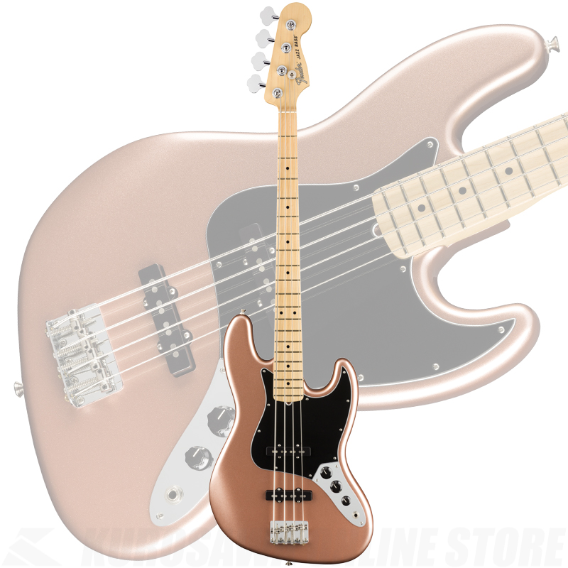 Fender American Performer Jazz Bass, Maple Fingerboard, Penny