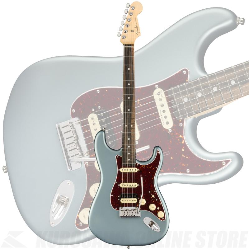 Fender American Elite Stratocaster HSS ShawBucker, Ebony Fingerboard, Satin Ice Blue Metallic(ご予約受付中)