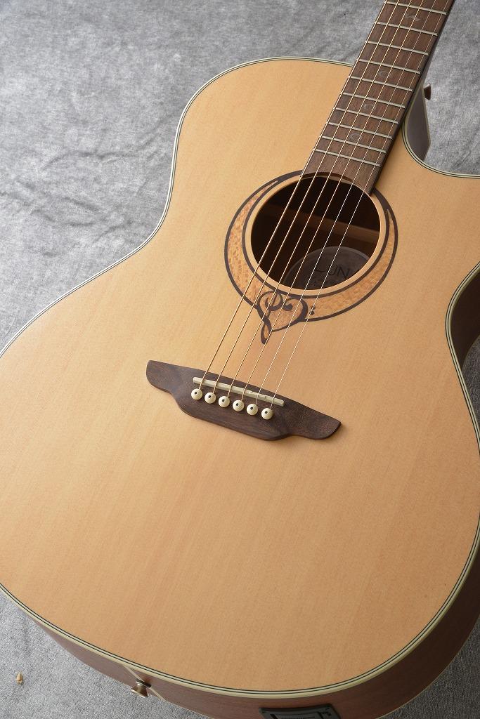 LUNA Guitars Heartsong GC select top, mahog usb 【送料無料】(ご予約受付中)