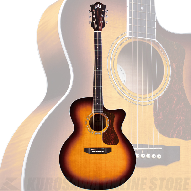 GUILD F-250CE DELUXE【送料無料】《サントアンジェロAcousticケーブルプレゼント!》