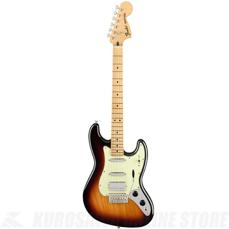 Fender Sixty-Six, Maple Fingerboard, 3-Color Sunburst《フェンダーアクセサリーキットプレゼント!》(ご予約受付中)