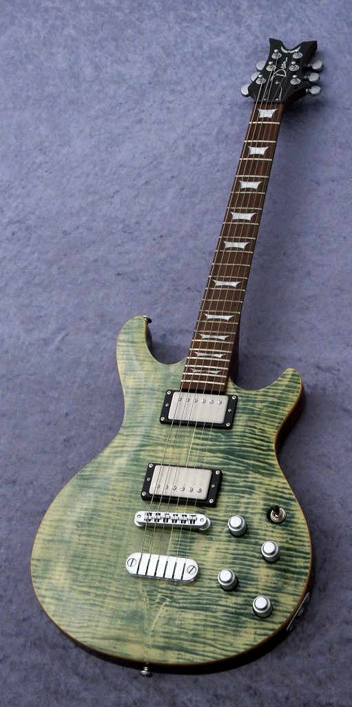 DEAN ICON Flame Top - Faded Denim [ICON FM FD]《エレキギター》【送料無料】(ご予約受付中)