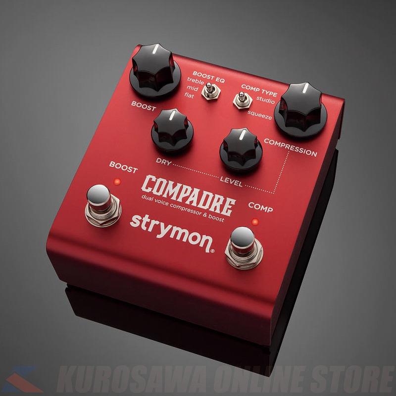 エフェクター 通常便なら送料無料 《ストライモン》 Strymon COMPADRE Dual Compressor 25%OFF Boost Voice