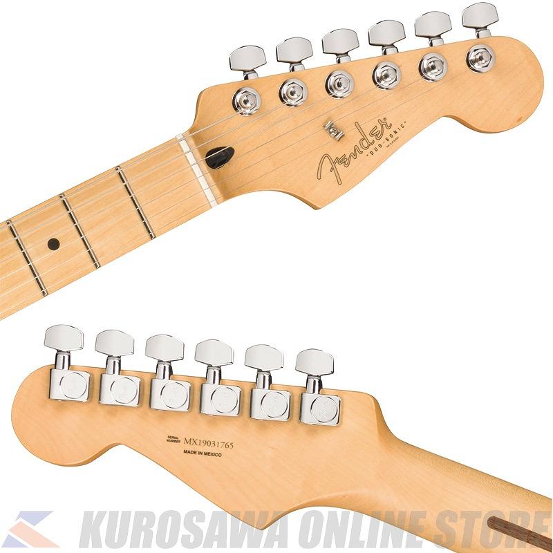 FenderPlayerDuo-SonicHSMapleFingerboardCrimson-RedTransparent-