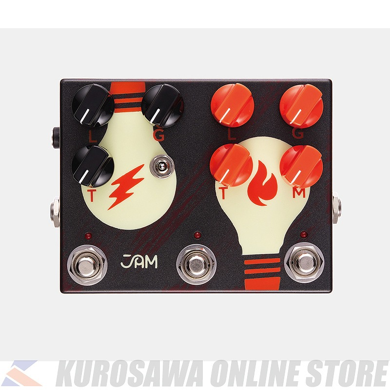 オーバードライブ 《JAM pedals》 AL完売しました JAM pedals Overdrive Dreamer Double 割引 Dual