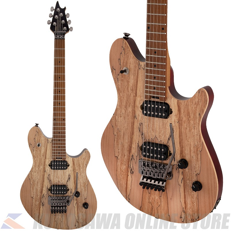 EVH Wolfgang WG Standard Exotic Spalted Maple Baked Maple Fingerboard -Natural- (ご予約受付中)