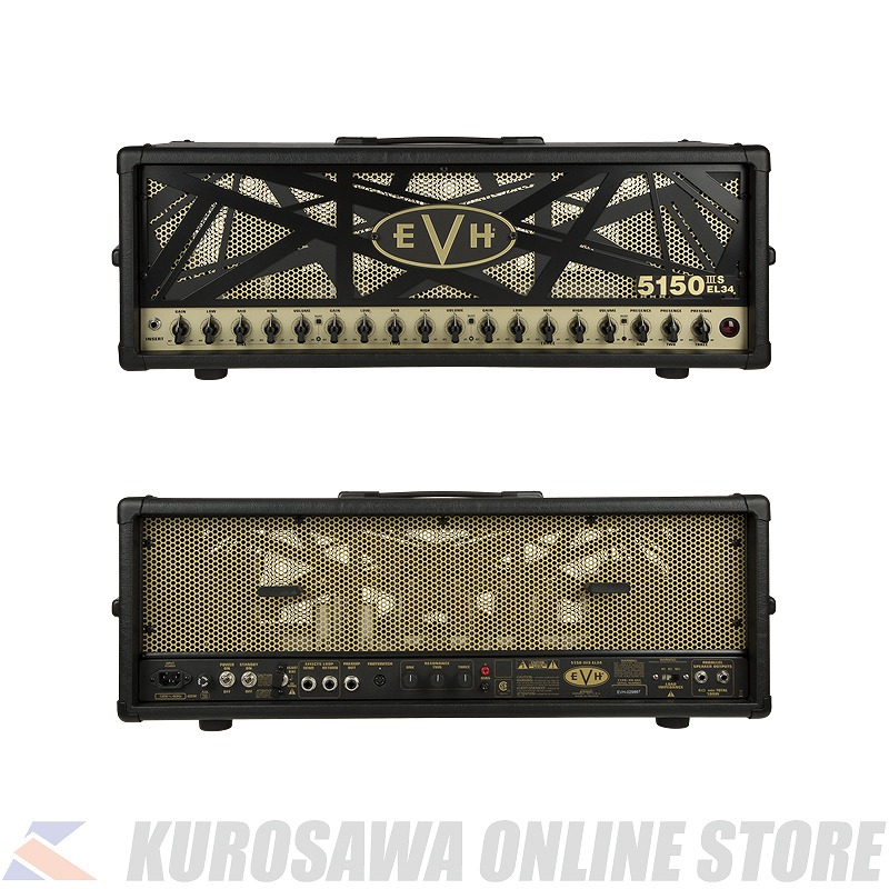 JPN EVH (ご予約受付中) 5150IIIS EL34 100V Head -Black- 100W