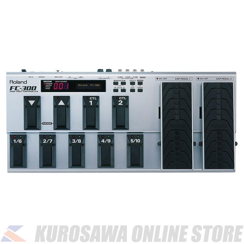 フットコントローラー 《ローランド》 Roland FC-300 限定特価 送料無料 おしゃれ MIDI Controller Foot