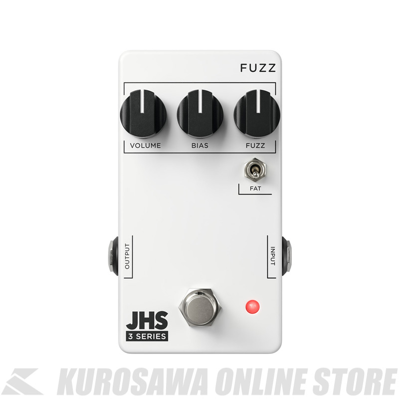 Series FUZZ 3 JHS ≪ファズ≫【送料無料】 Pedals