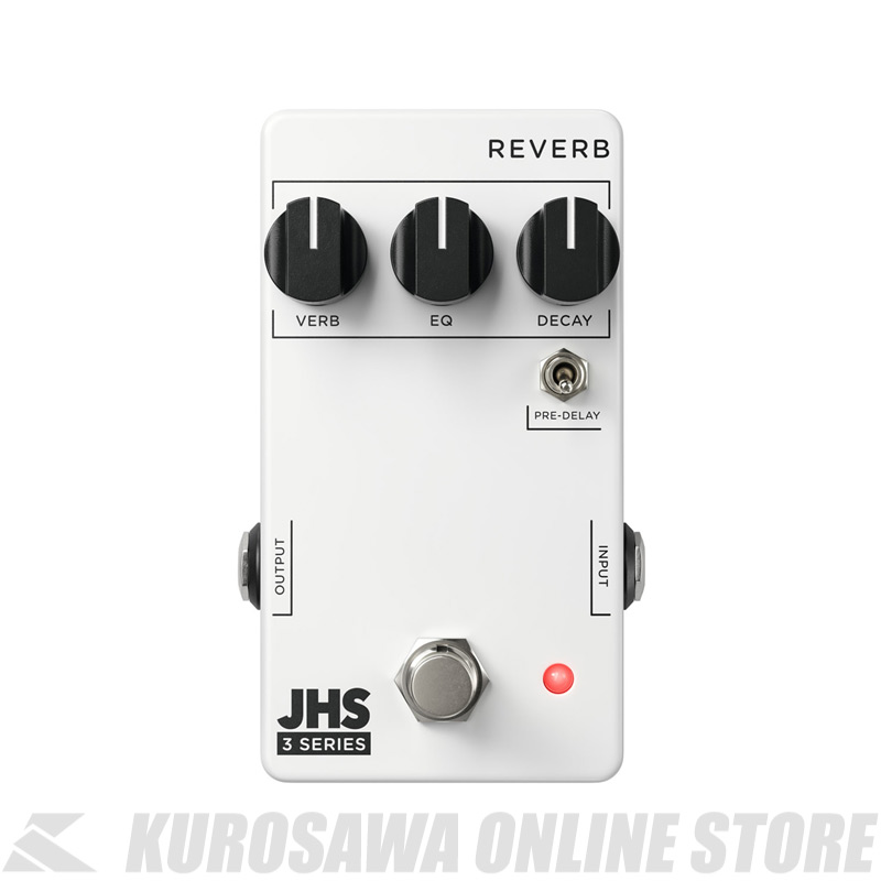 Series JHS ≪リバーブ≫ 3 REVERB Pedals 【送料無料】
