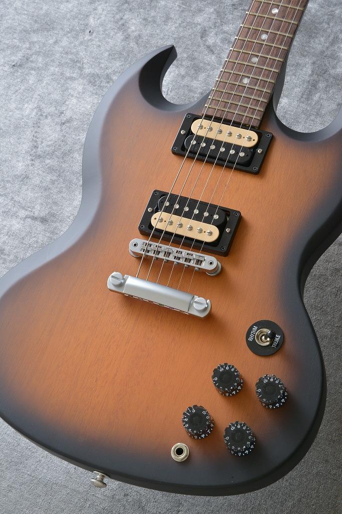 Gibson SGM 2014 Vintage Sunburst Perimeter Satin Satin Chrome Min-ETune(送料無料)(アウトレット特価)