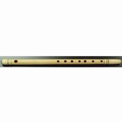 大岡楽器 高級紫水 民謡笛(洋音階) 籐両巻 5本調子 (キー:A) 〔7穴〕 《民謡笛》【送料無料】