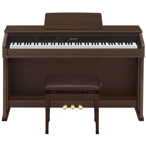 CASIO / カシオ AP-460BN CELVIANO セルヴィアーノ AP460BN (オークウッド調)《電子ピアノ/88鍵》【配送設置料無料】 【イス・ヘッドフォン付き】