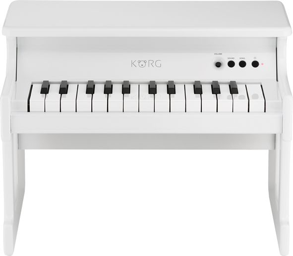 KORG tiny PIANO/White 【デジタルトイピアノ】【送料無料】(納期未定・ご予約受付中)