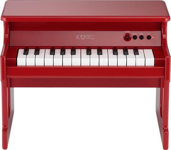 KORG tiny PIANO/Red 【デジタルトイピアノ】【送料無料】(納期未定・ご予約受付中)