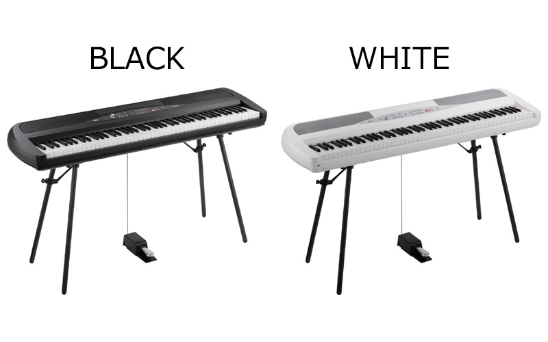 KORG SP-280(WHITE/BLACK)《デジタルピアノ》【【送料無料】【smtb-u】