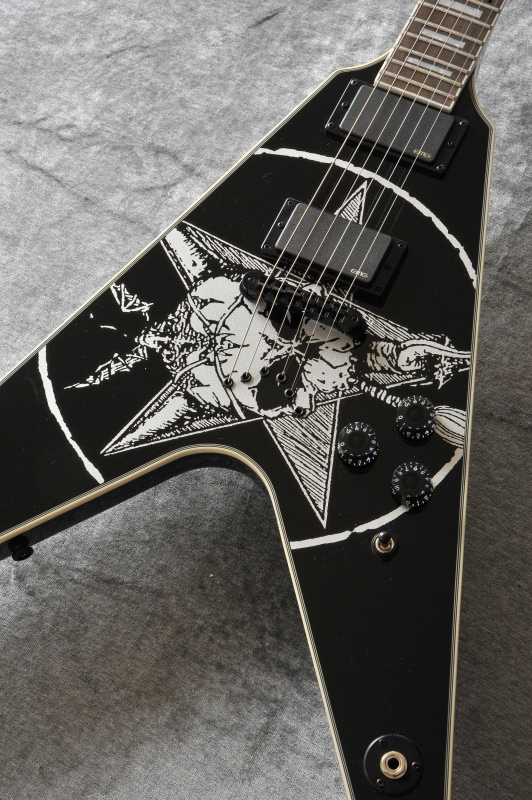 Dean Eric Peterson Old Skull V w/Case [Eric Peterson / Testament]【送料無料】 [EPV]