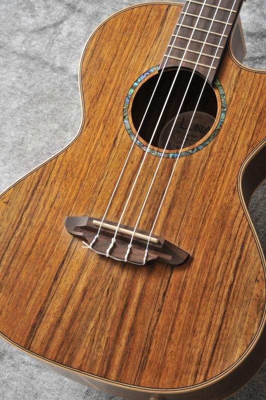 Luna Guitars High Tide Tenor Ovankol[UKE HTT OVA]《テナーウクレレ》【送料無料】【ご予約受付中】