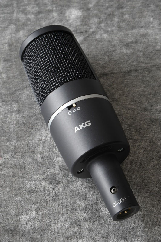 AKG 《コンデンサーマイク》【送料無料】 C 4000