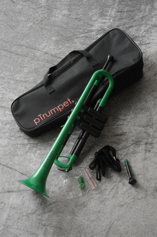 Conn-Selmer pTrumpet (グリーン)(プラスチック製トランペット)(送料無料)(ご予約受付中)