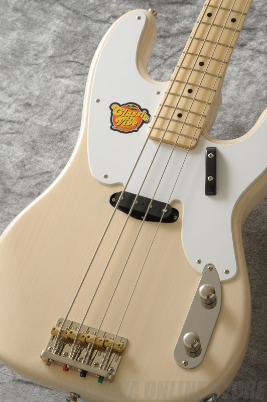SQUIER Classic Vibe Series / Classic Vibe Precision Bass '50s, Maple Fingerboard, White Blonde《ベース》