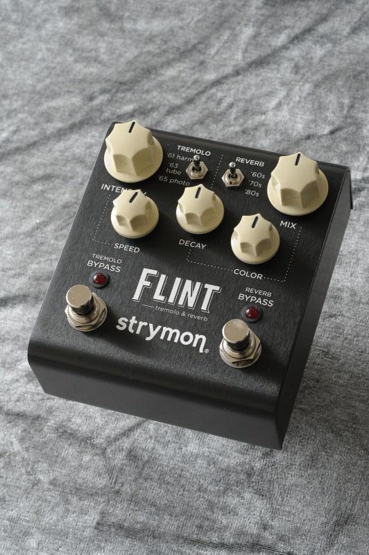 音楽史に刻まれたサウンドを簡単に strymon ファッション通販 FLINT 《エフェクター 結婚祝い 送料無料 ご予約受付中 リバーブ》 トレモロ