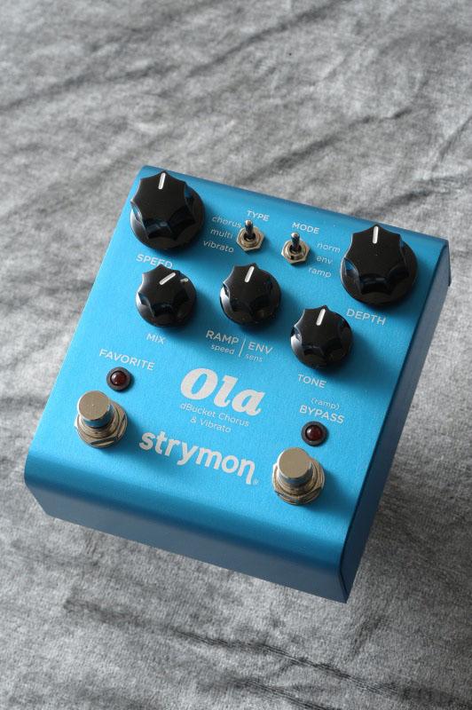 きらびやかでオーガニックなサウンド strymon Ola 新商品 卸売り 新型 Chorus コーラス》 送料無料 《エフェクター