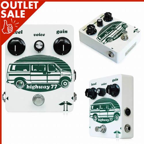 Heavy Electronics ヘヴィーエレクトロニクス Highway 77 《エフェクター/ディストーション》【1台のみ!アウトレット特価!】【送料無料】