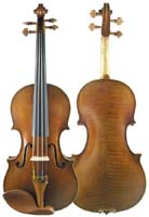 Hengsheng ヘンシェン HV-AM20 series-20 Antique Series Amati Replica Violin【smtb-u】 【送料無料】