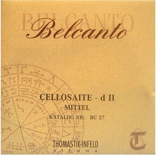 Thomastik Infeld Belcanto ベルカント チェロ弦 C線 スチール/タングステン巻