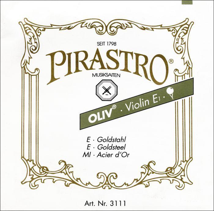 Pirastro Oliv オリーブ G線リジット ガット/ゴールド-シルバー巻