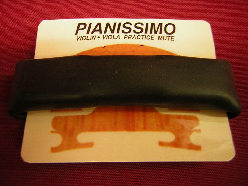 PIANISSIMO mute for the violin.