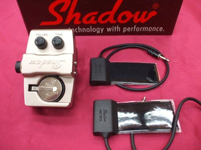 Shadow SH-965 NFX ウッドベース用ピックアップ 【smtb-u】