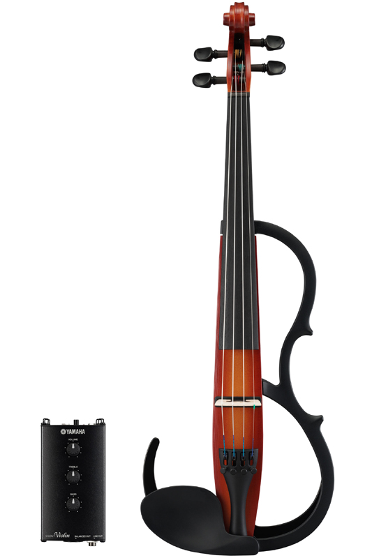 YAMAHA Silent Violin SV250 (BR)《サイレントバイオリン》【送料無料】【次回入荷分・ご予約受付中】