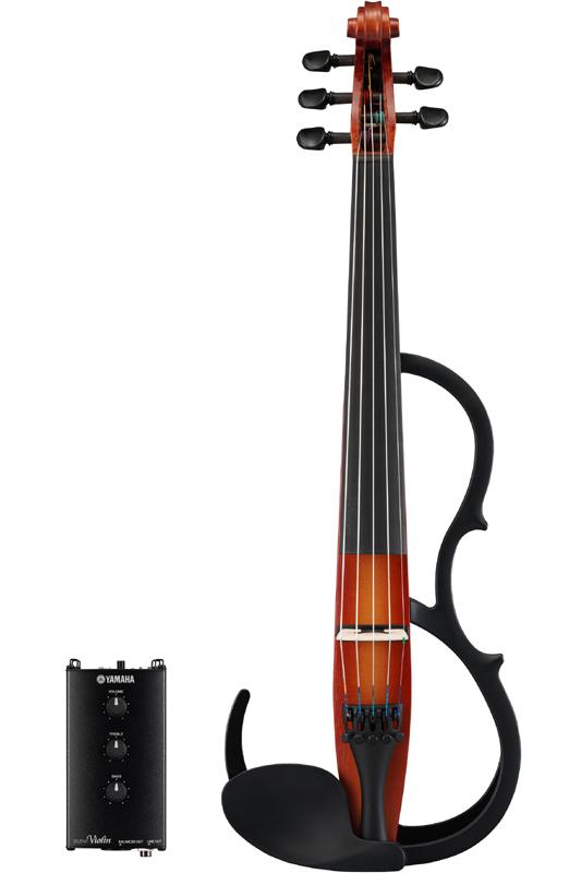 YAMAHA Silent Violin SV255 (BR)《サイレントバイオリン》【送料無料】