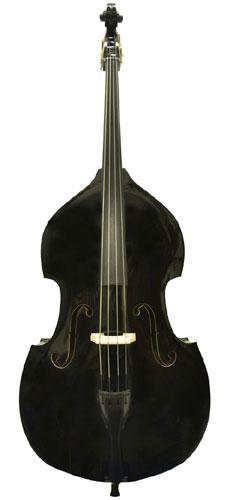 Carlo Giordano カルロ・ジョルダーノ SB-160 Bass Outfit (BLK)《ウッドベースセット》【送料無料】