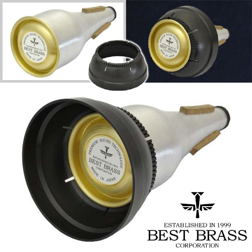 BEST BRASS 3-Way Cup スリーウェイカップ トランペット用 カップ/ストレート/プランジャーミュート 【ご予約受付中】