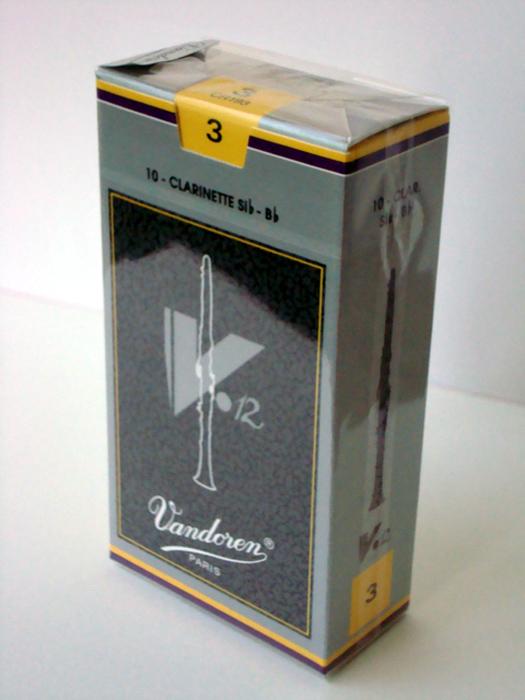 直送商品 Vandoren バンドレン V12 リード B♭クラリネット用 再入荷 予約販売 10枚入り