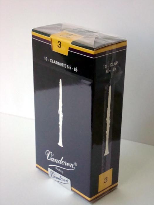 Vandoren Bundren traditional clarinet use (entering ten pieces)